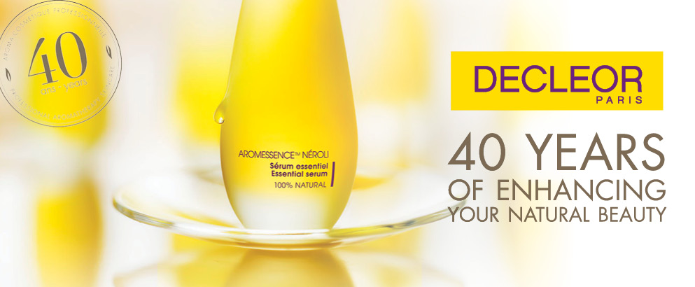 Celebrating 40 years of decleor